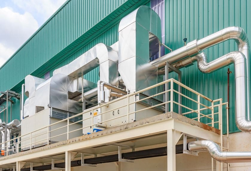 Industrial HVAC Equipment Services